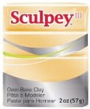 Sculpey III Polymer Clay, Jewelry Gold, 2 ounce bar. S302 1132