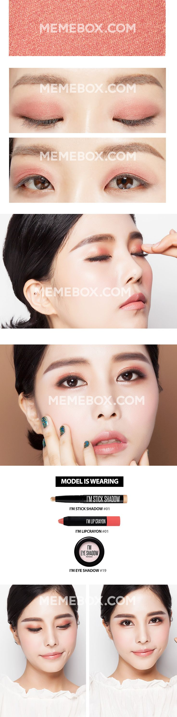 i'm eyeshadow memebox daily life
