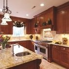 Snell Kitchen 2 - mediterranean - kitchen - dc metro - Cameo Kitchens, Inc.
