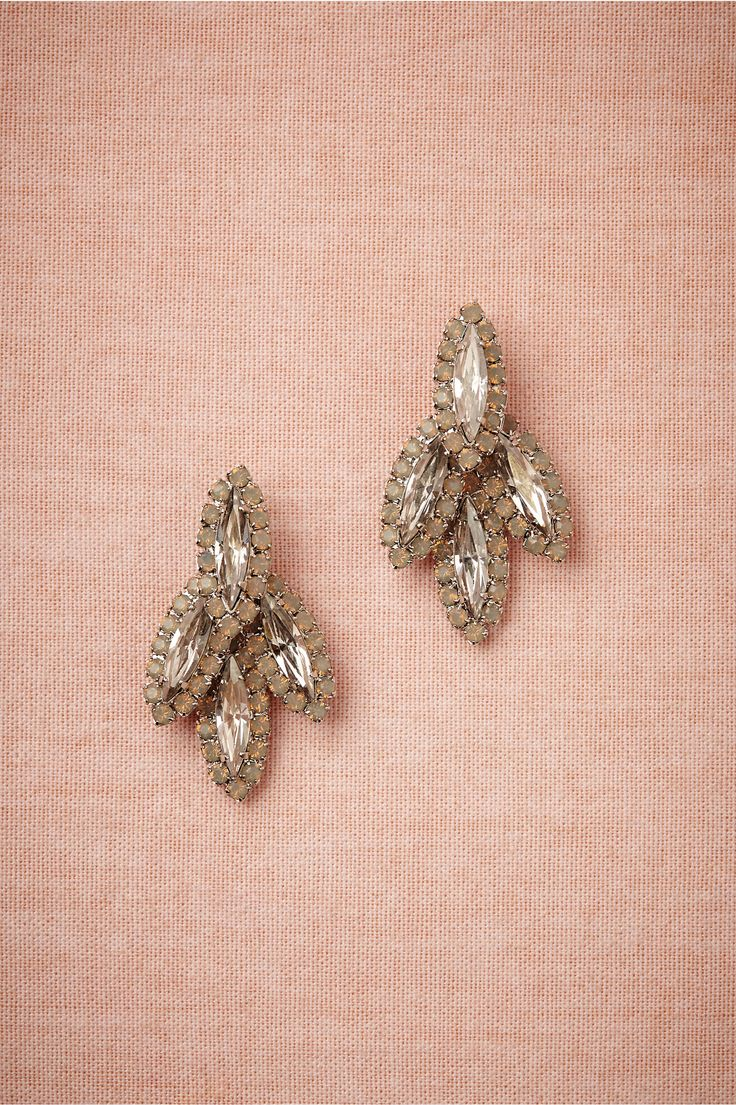 Navette Point Earrings in Gifts For the Bride at BHLDN