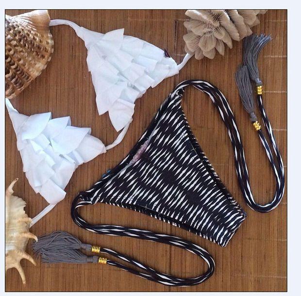 Triangle Bikini Beach Swimsuit Women Swimwear Bathing Suit