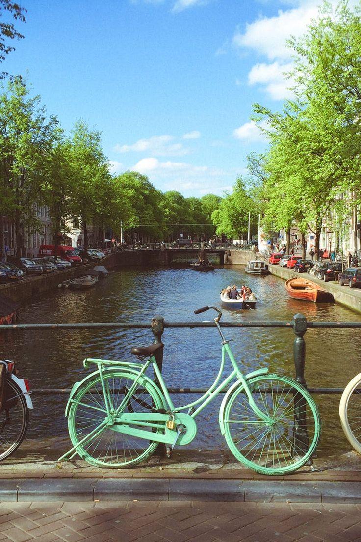 Cruiser Bikes Beside Bridge