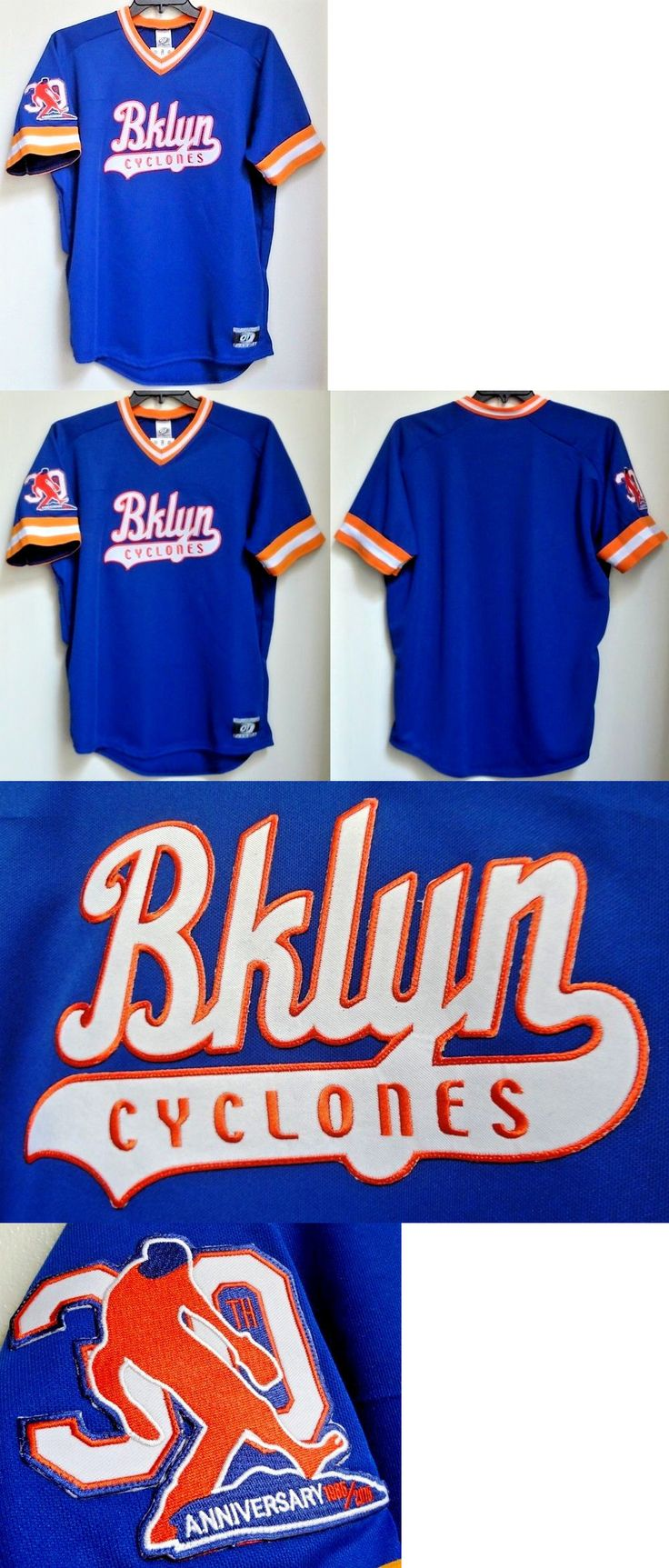 Baseball-Minors 24441: New York Mets Sidd Finch 30Th Anniversary 1985-2015 Jersey L Brooklyn Cyclones -> BUY IT NOW ONLY: $129.97 on eBay!