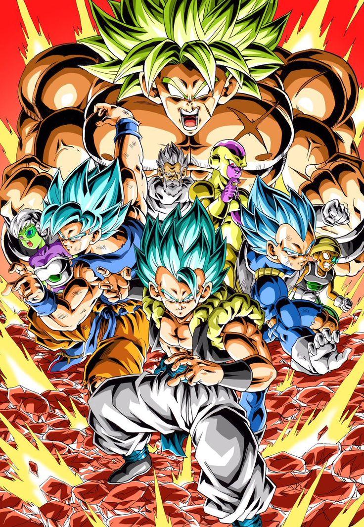 Super Broly cast Personajes de dragon ball, Personajes