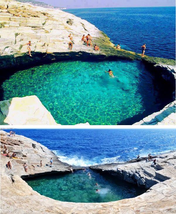 Giola (Thassos, Greece)