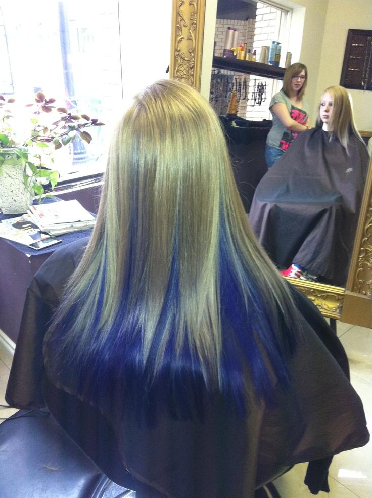 Hair Color Photos Dark Underneath Light On Top Dark
