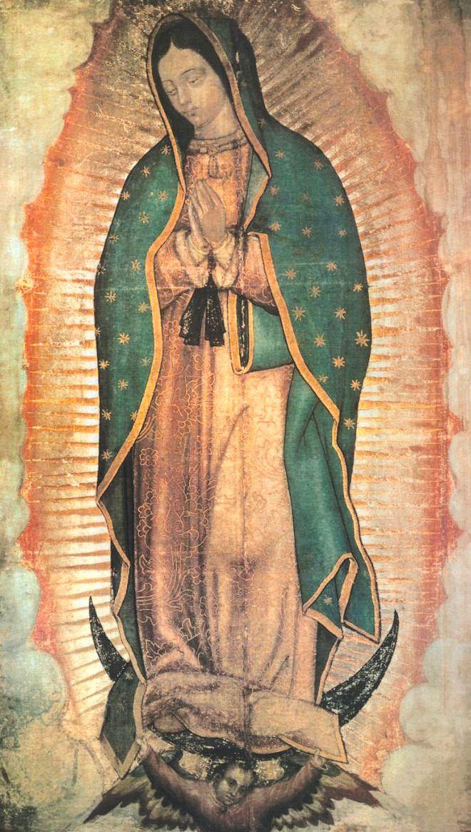 Novena e Estampa de Nossa Senhora de Guadalupe
