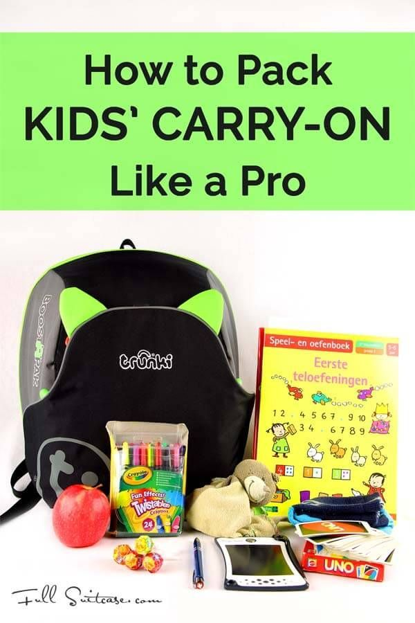 43 flights with young kids and counting... we can give you one piece of advice: LESS is MORE. Find out what to pack for kids on the plane and travel like a pro!