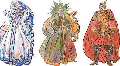 Маскарадные костюмы героев русских сказок