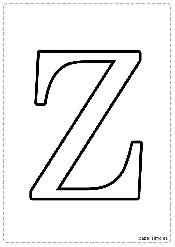 Letras Grandes Para Imprimir Plantillas De Letras Letras