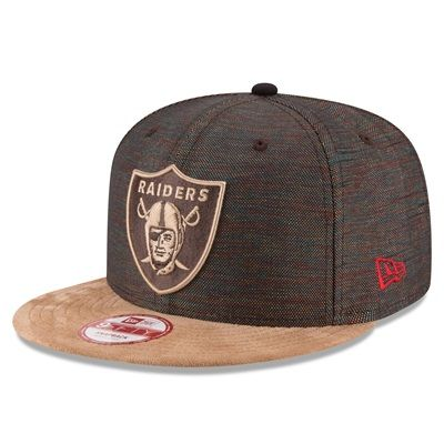 Oakland Raiders Khalil Mack New Era 9FIFTY Nylon Suede Snapback Cap