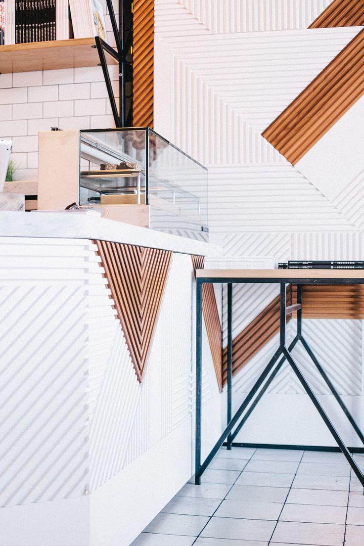 Un bar de zumos de líneas minimalista y escandinavas   Estilo Escandinavo