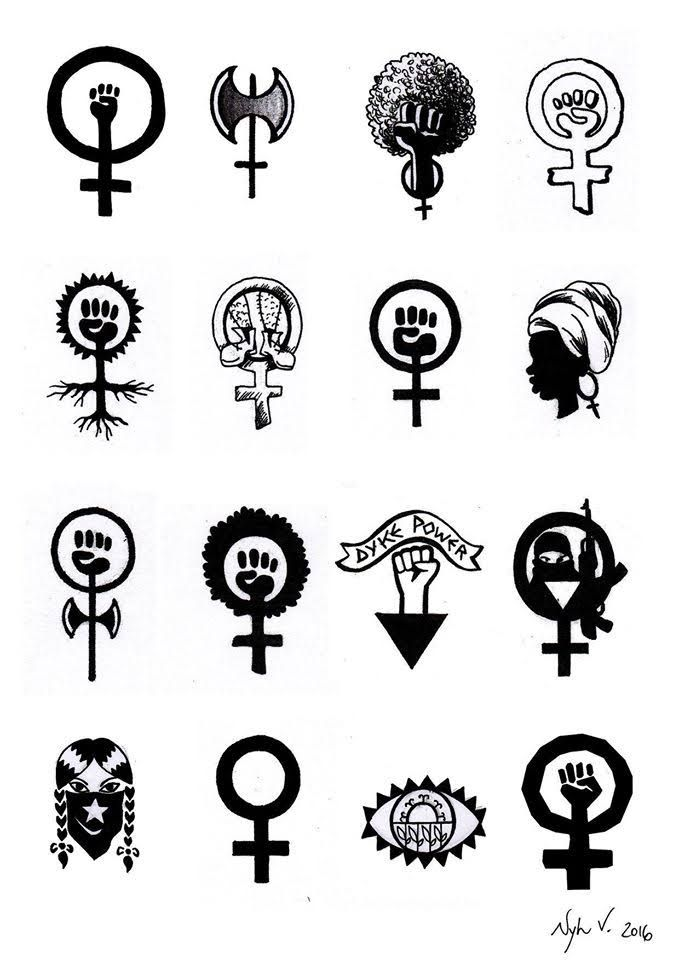 Evento disponibiliza tatuagens feministas durante o fim de semana