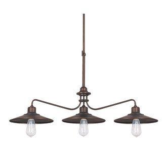 View the Capital Lighting 4198 Urban 3 Light 1 Tier Linear Chandelier at LightingDirect.com. $197