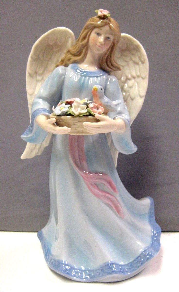 28 best porcelain angels images on pinterest angel angels and china - Angels figurines for sale ...