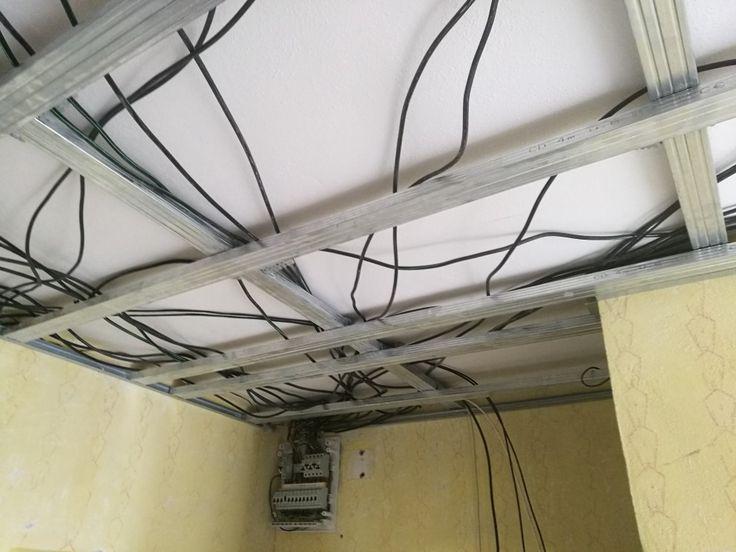 Nová elektroinštalácia a konštrukcia pre sadrokartón.  #art4you #art4youpodlahy #rekonštrukcia #rekonštrukciabytu #prerobeniebytu