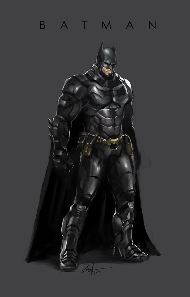 ArtStation - Batman fan art, Aref Ahmadi Araghi
