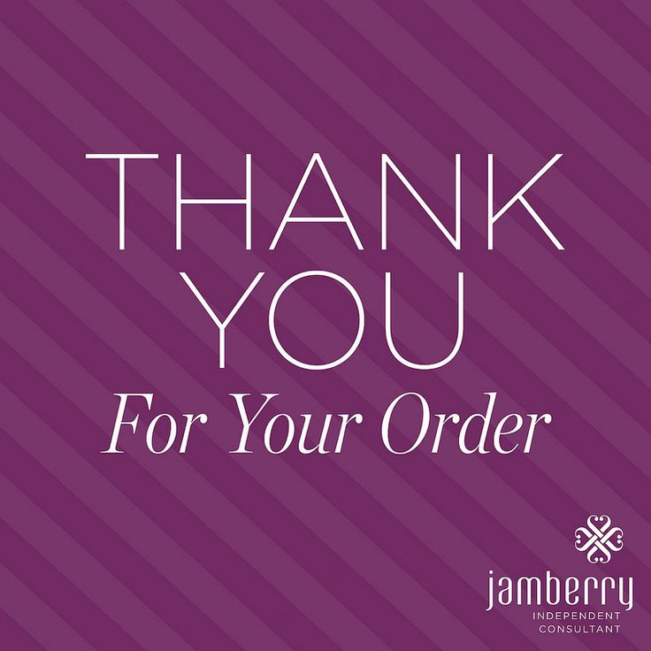 jamberry thank you