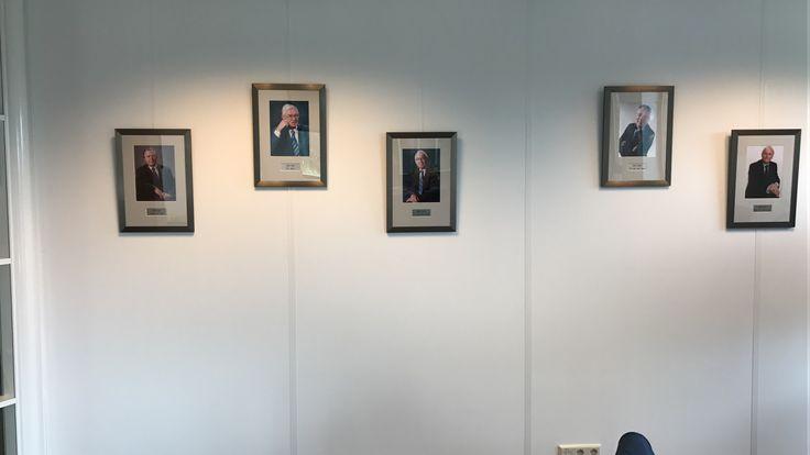 Oud voorzitters VBO Makelaar op een rij...