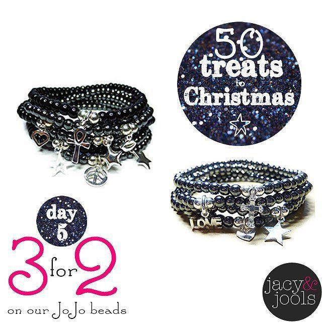 50 Treats to Christmas #day5  #3for2 #jojobracelets #bracelets #onyx #hematite #sterlingsilver #jacyandjools #Altrincham #Cheshire #madeincheshire