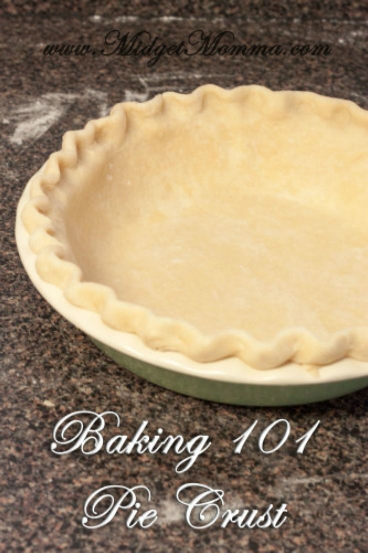 How to Make a Pie Crust. Homemade from scratch and the only pie crust recipe you need!