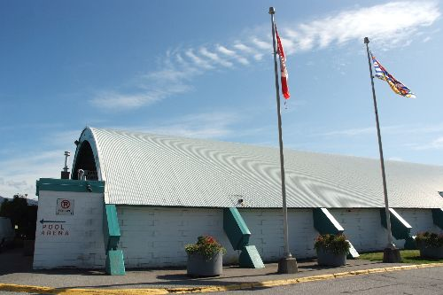 the old ice rink