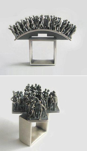 Abril 2009 | El blog de la joyería moderna Carrotbox y tienda - obsesionados con anillos Dieter Eneldo