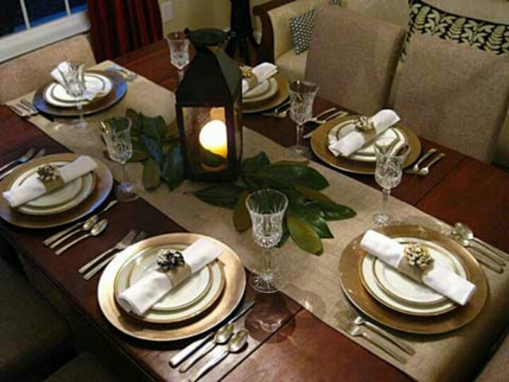 table setting ideas - Dining Room Table Settings