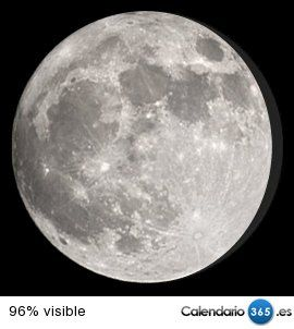 Fase lunar actual 2016
