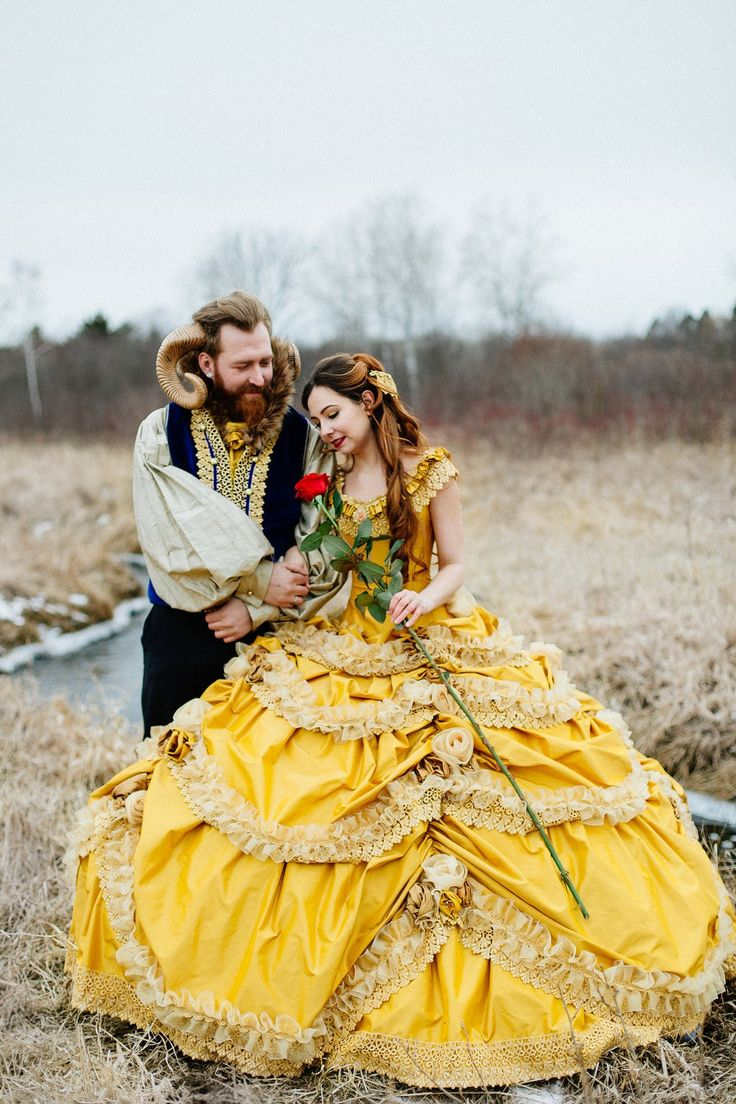 Be Our Guest: 47 Enchanting Beauty and the Beast Themed Wedding Ideas