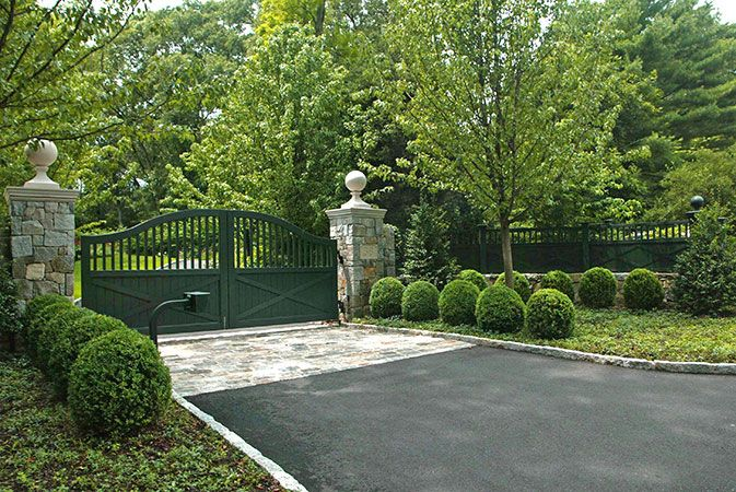 Pin By Andrew Oesterritter On Driveway Gates And Entrances Entry Gates Driveway Gate Entrance