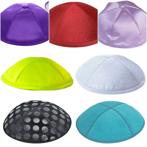 36a173df956bd A Kippah for Every Occasion  From silk to satin to suede.