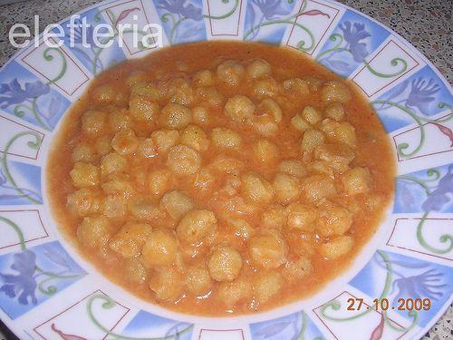 Γεύση Ελευθερίας: ρεβίθια σούπα
