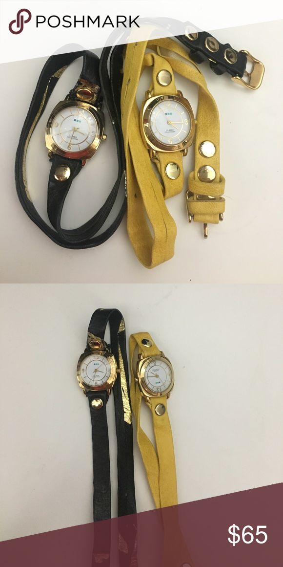 Gorgeous La Mer Collections Watches. Selling as is. Need new batteries. Not sure if they work. La Mer Accessories Watches
