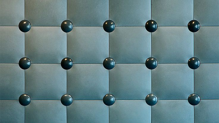 'Touch' concrete tile design by Zsanett Kincses I KAZA Concrete #surfacedesign #featurewall #walldecor #backsplash