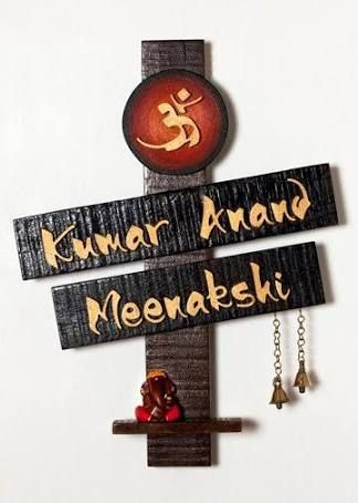 indian house name plates designs - Google Search