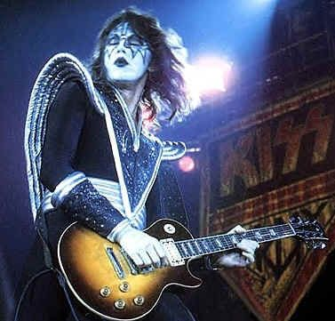 Ace Frehley of KISS. The reason I ever wanted to pick up a guitar.