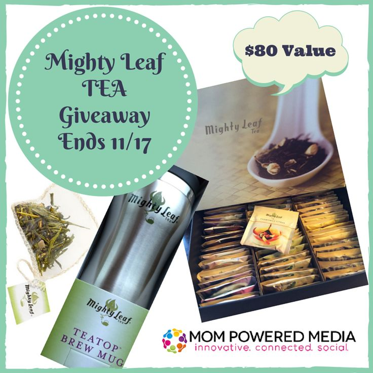 Mighty Leaf Tea Giveaway - My Dairy Free Gluten Free Life