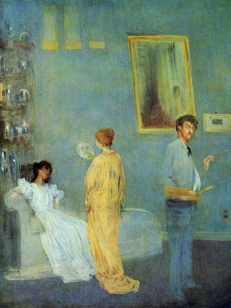 The Artist's Studio (also known as Whistler in His Studio) James Abbott McNeill Whistler - circa 1865
