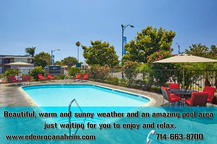 Summertime is in full effect here at Eden Roc Inn & Suites. Beautiful, warm and sunny weather and an amazing #pool area just waiting for you to #enjoy and #relax. Come stay with us soon!! http://www.edenrocanaheim.com/gallery.html