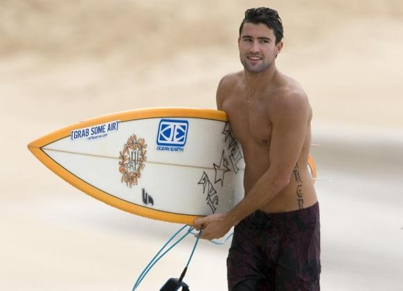 Shirtless Brody Jenner