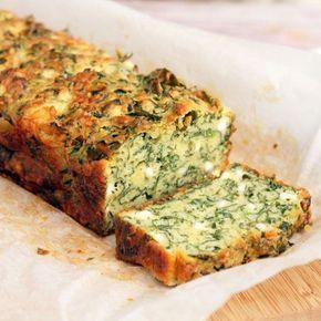 Αλμυρό κέικ με τυρί φέτα και σπανάκι. Ένα λαχταριστό, πολύ νόστιμο και υγιεινό κέικ για να το απολαύσετε ως ορεκτικό, ή συνοδευτικό με το κυρίως πιάτο σας