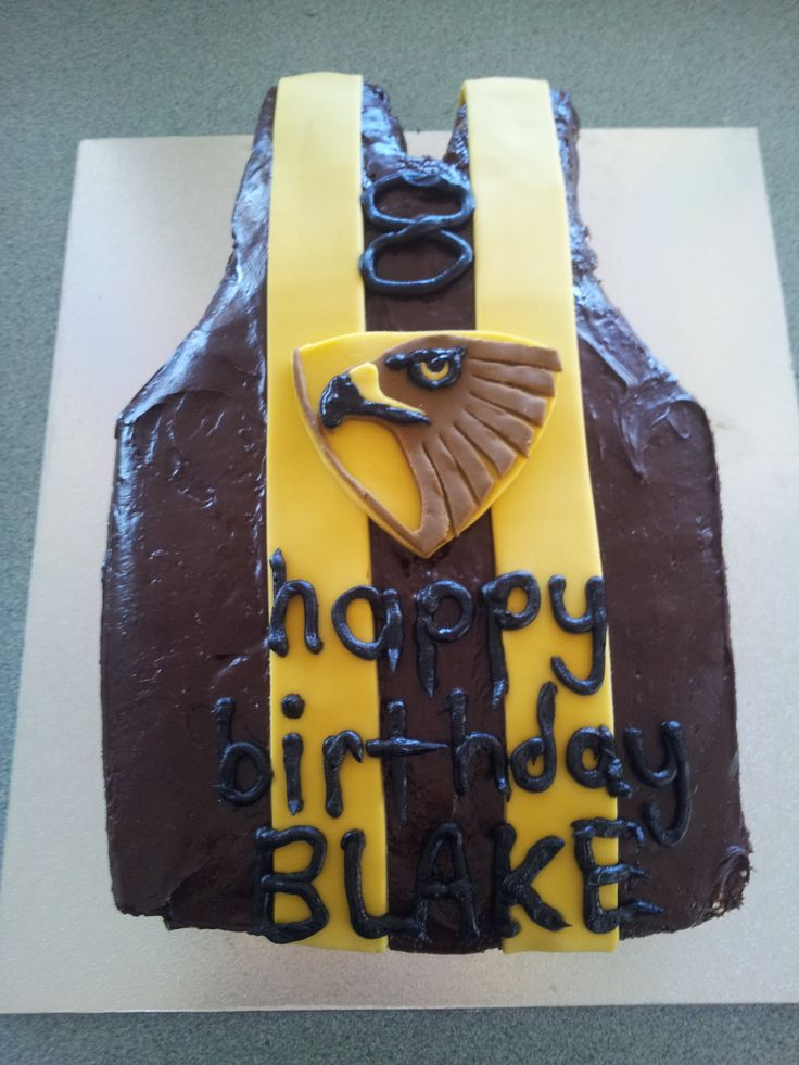 Hawthorn cake for my sons 8th birthday