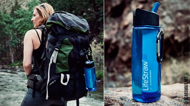 LifeStraw GO   бутылка для воды с встроенным фильтром