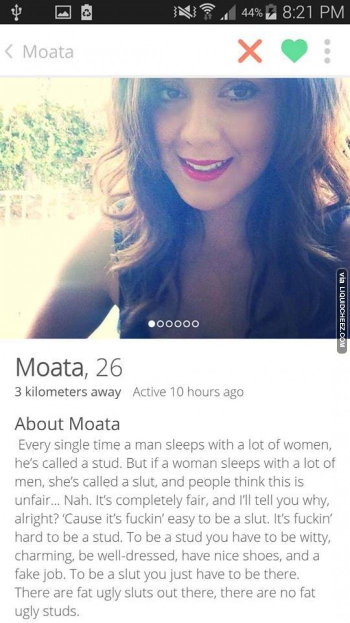 This girl from tinder speaks the truth