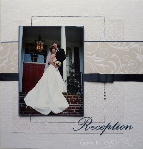 wedding scrapbook layouts | Wedding scrapbook album: Reception layouts, part 1 | Vegetablog