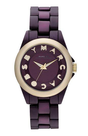 purple marc jacobs watch