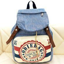 1 perakende ücretsiz kargo sıcak satış damgalanmış öğrenci kanvas sırt çantası çantası seyahat çantası bayan çanta 2014 öğrencinin okul çantası(China (Mainland))