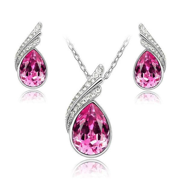 Austrian Crystal Jewelry Sets