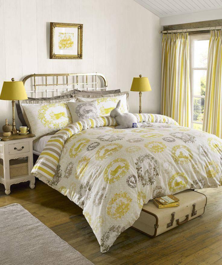 Kirstie Allsopp Cecile Buttercup Bed Linen #HOFatHOME